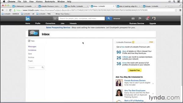 Leveraging personal profile updates: LinkedIn for Business