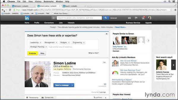 Using search and outreach for recruiting: LinkedIn for Business