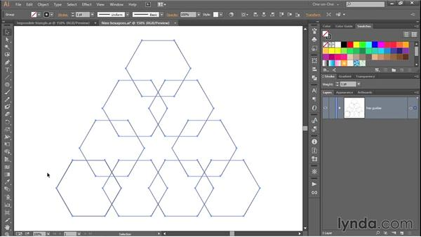 Converting shapes into custom guides: Designing and Animating a Mind-Bending Illusion