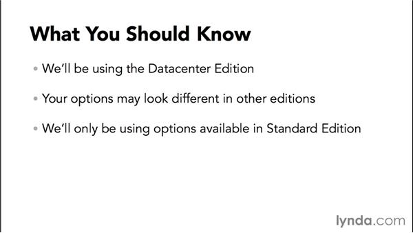 What you need to know: Basic Installation and Configuration of Windows Server 2012