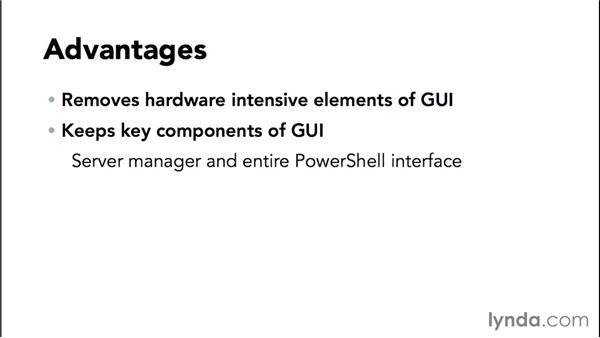 The Minimal Server Interface: Basic Installation and Configuration of Windows Server 2012