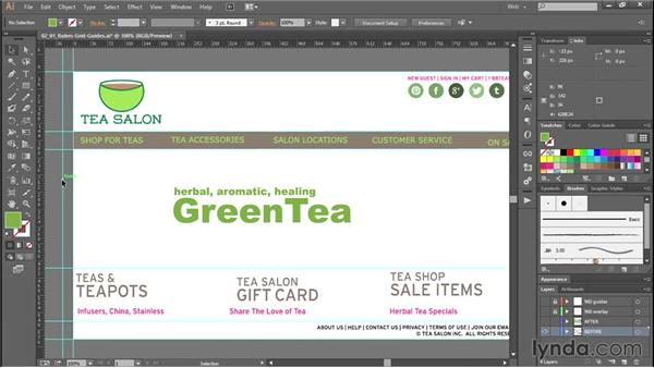 Improving your layout efficiency with rulers, grids, and guides: Productivity Tips for Web Designers