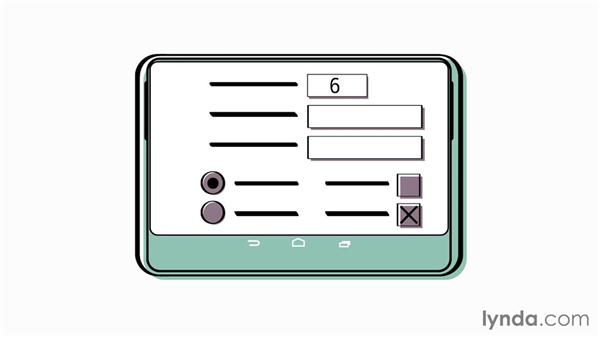 Touch-friendly forms: Foundations of UX: Multidevice Design