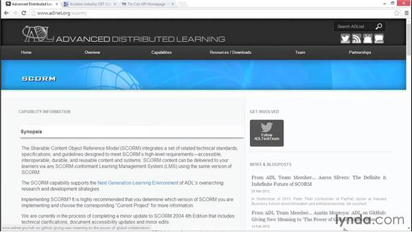 Understanding LMS terminology: Captivate Projects: Publishing for Mobile and the Web