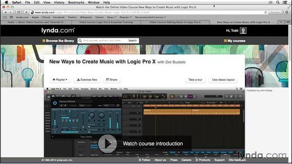 What you should know before watching this course: Songwriting in Logic Pro