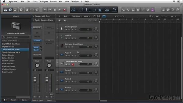 Being ready for musical sparks whenever they may happen: Songwriting in Logic Pro