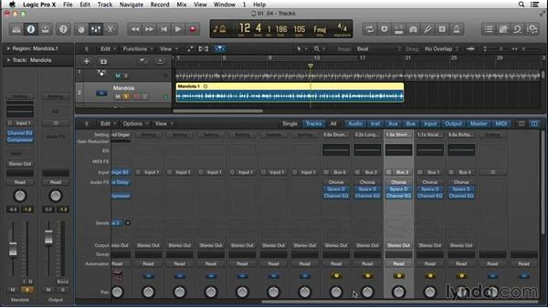 Solidifying the groove with a compelling bassline as a musical hook: Songwriting in Logic Pro