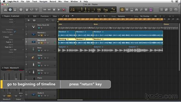 Building up the arrangement and adding a chorus with acoustic guitar: Songwriting in Logic Pro