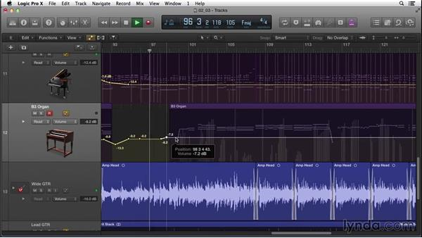 Bouncing down the demo using a mastering channel-strip setting: Songwriting in Logic Pro