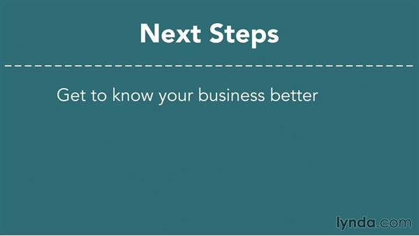 Next steps: Making Business Projections
