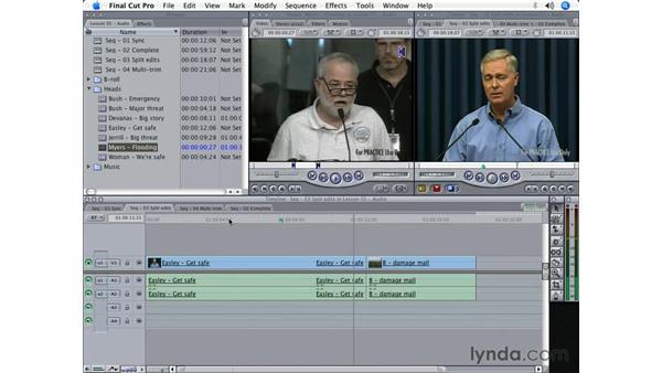 Audio editing pt. 1: Final Cut Pro 5 Beyond the Basics