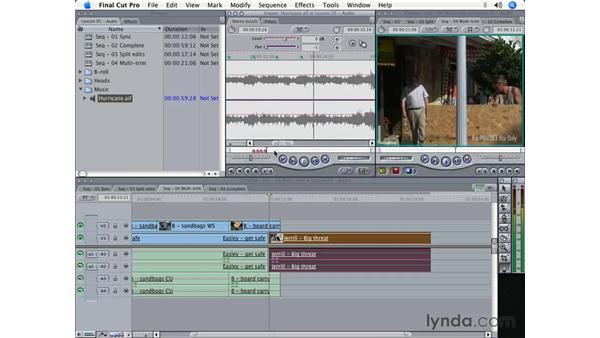 Audio editing pt. 2: Final Cut Pro 5 Beyond the Basics