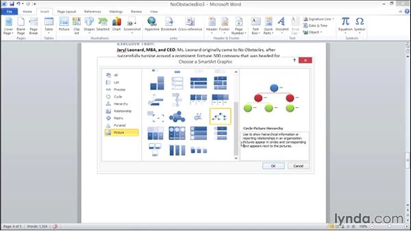 Working with SmartArt: Migrating from Office 2007 to Office 2010