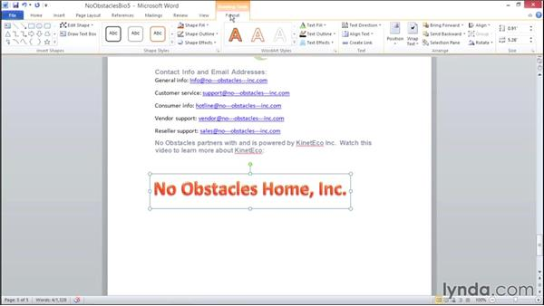 Working with WordArt: Migrating from Office 2007 to Office 2010