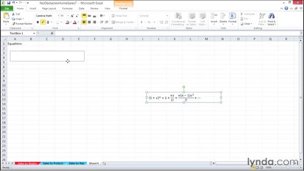 Adding equations: Migrating from Office 2007 to Office 2010