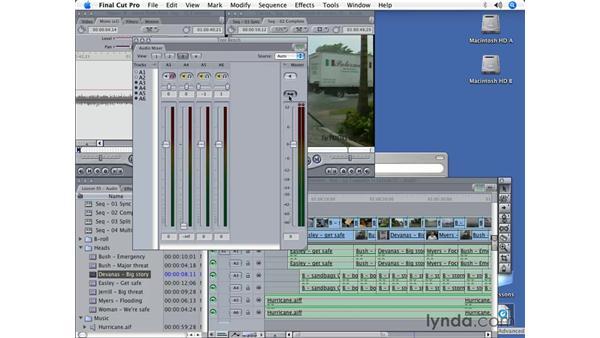 Audio mixing: Final Cut Pro 5 Beyond the Basics