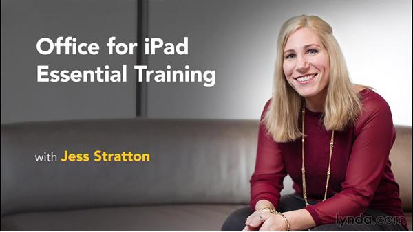 Next steps: Office for iPad and iPhone Essential Training