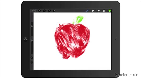 Painting with the iPad app Procreate 2: Digital Painting Fundamentals