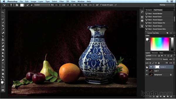 Separating brush work from color and composition: Digital Painting Fundamentals