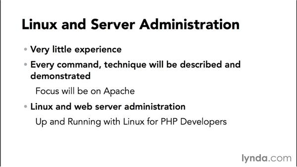 What you should know before watching the course: Practical Apache Web Server Administration