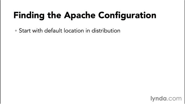 Where is Apache's configuration?: Practical Apache Web Server Administration