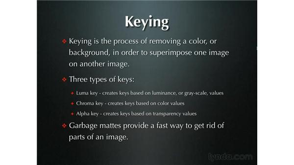 Introduction to keying: Final Cut Pro 5 Beyond the Basics