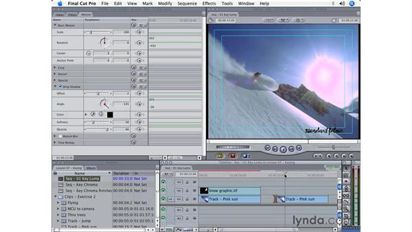 Luma keys: Final Cut Pro 5 Beyond the Basics
