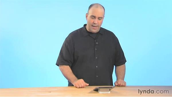 Password protecting a document: iWork for iPad Essential Training