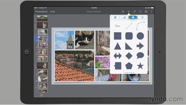 Using toolbar controls: iWork for iPad Essential Training