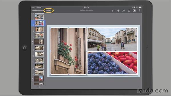 Undo and Redo: iWork for iPad Essential Training