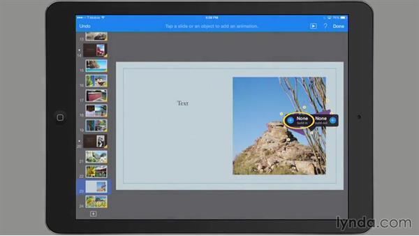 Adding and customizing shapes: iWork for iPad Essential Training