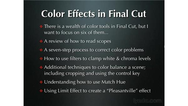 Introduction to color: Final Cut Pro 5 Beyond the Basics