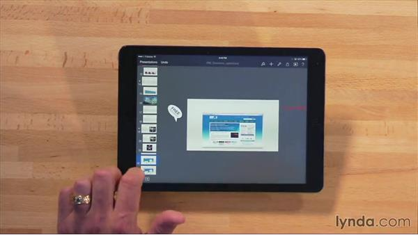 Animating with Magic Move: iWork for iPad Essential Training