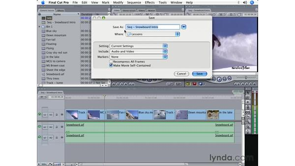 Troubleshooting: Final Cut Pro 5 Beyond the Basics