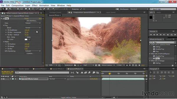 Manipulating skies and atmosphere: Up and Running with Tiffen Dfx