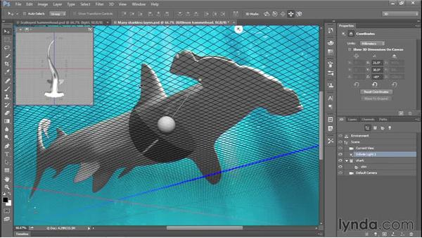 342 Creating a 3D shark in Photoshop: Deke's Techniques