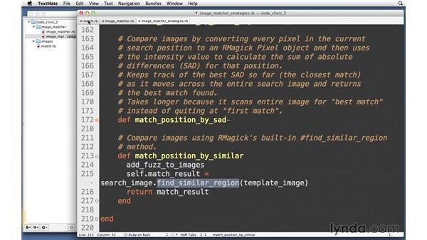 Optimizations: Code Clinic: Ruby
