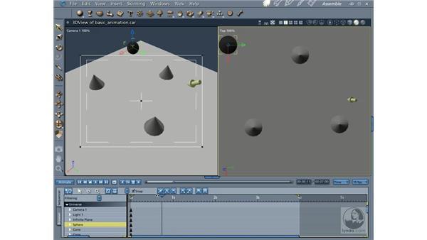 Creating animations: Carrara 5 Essential Training