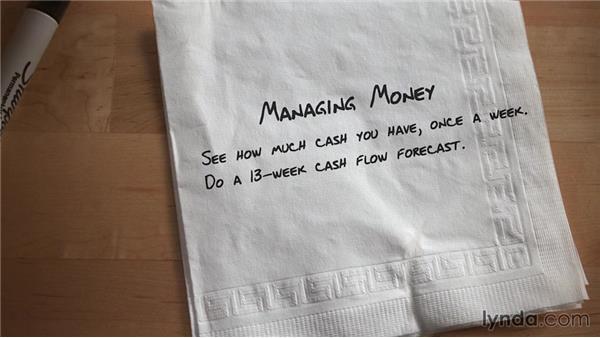 Minding your cash: Entrepreneurship Fundamentals