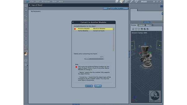 Importing 3D models: Carrara 5 Essential Training