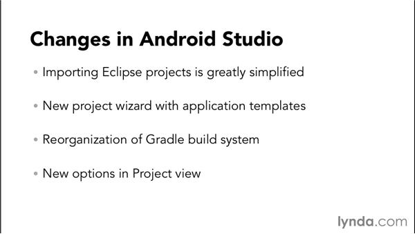 What's new in this update: Android Studio First Look