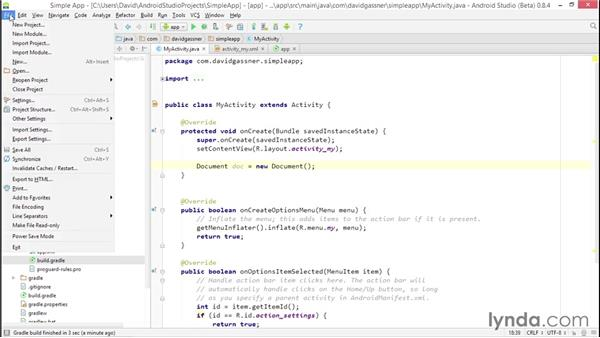 Adding JAR files with dependencies and modules: Android Studio First Look