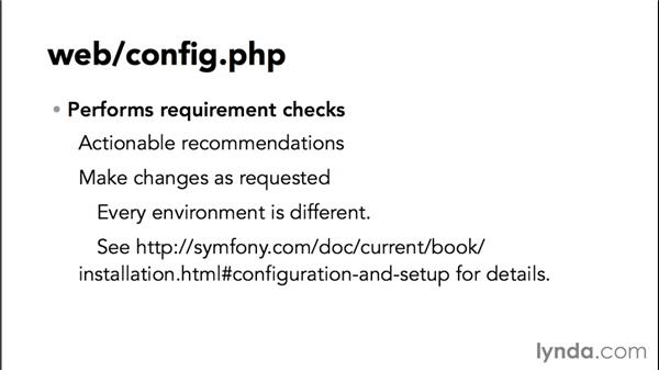 Exploring the Symfony layout: Up and Running with Symfony2 for PHP