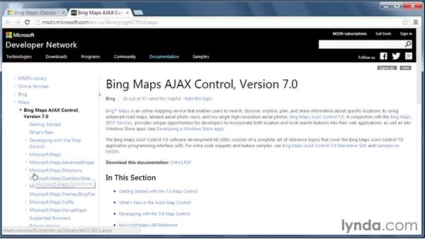 The Bing Maps platform: GIS on the Web