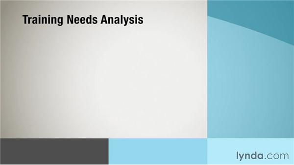 Connecting good analysis to good training: Instructional Design Essentials: Needs Analysis