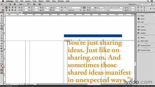 155 Uncommon uses for Quick Apply: InDesign Secrets