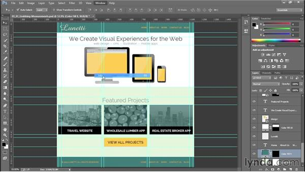 Grabbing measurements to speed up your workflow: Productivity Tips for Web Designers