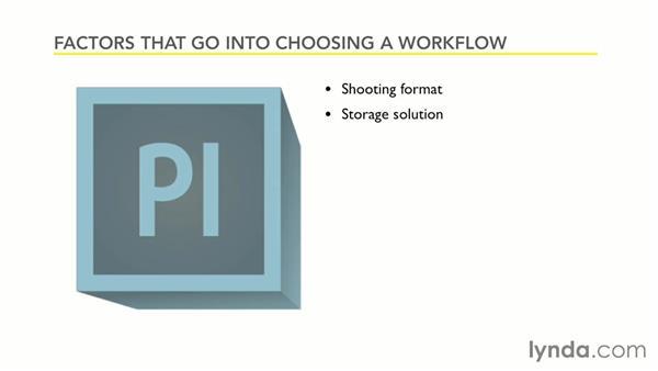 Choosing a workflow: Premiere Pro Guru: Working with Prelude