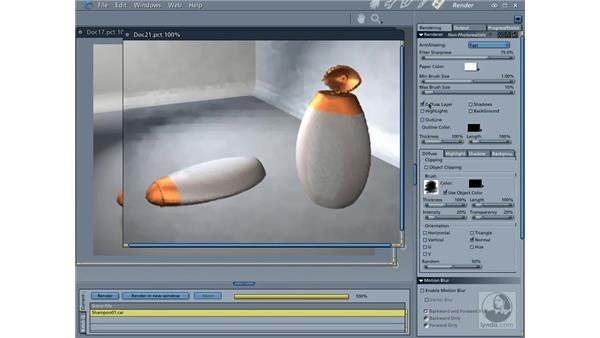 Choosing a render engine: Carrara 5 Essential Training