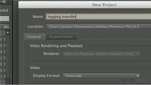 Sending logging information to Premiere Pro: Premiere Pro Guru: Working with Prelude